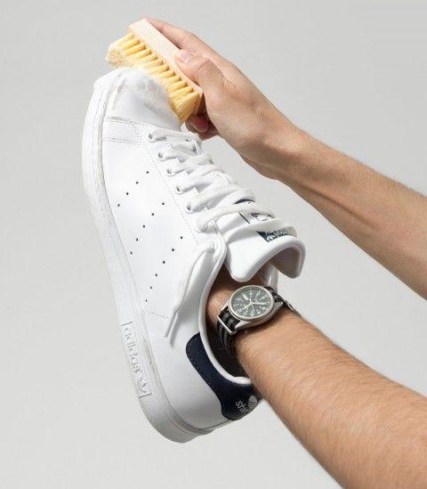 come pulire scarpe adidas bianche