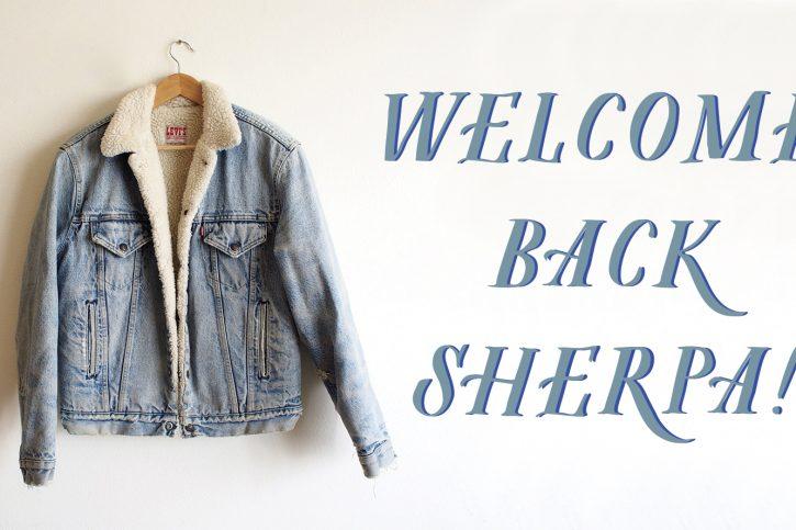 Il ritorno della giacca Sherpa, icona di stile, gusti e ideali