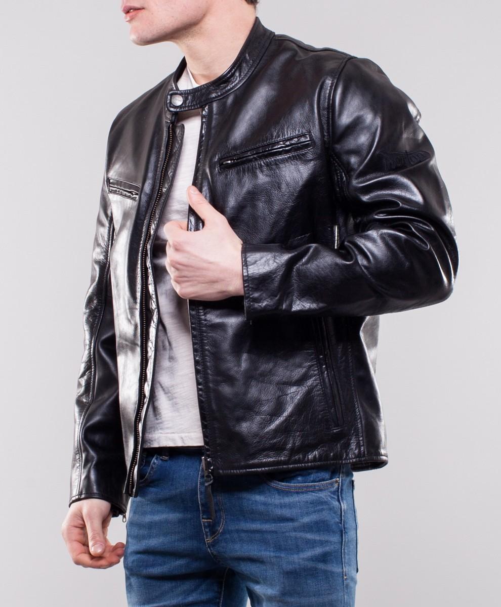 giacca di pelle uomo nuvolari