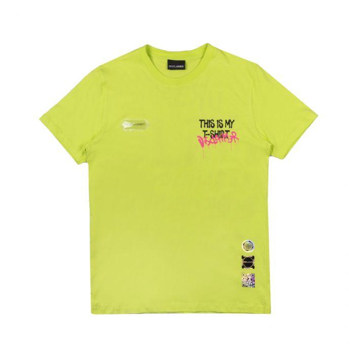 t.shirt disclaimer giallo fluo Primavera_estate 2021