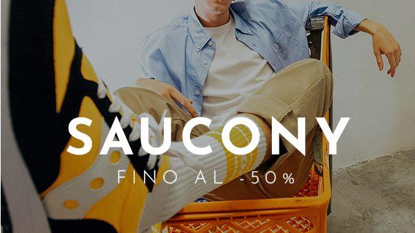 Saucony in saldo fino al 50%